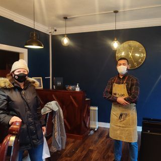 Owner of Crystal Cave Barbers discusses his new venture