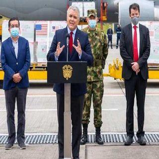 Presidente de Colombia agradece a EEUU