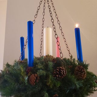 Advent Hope: Living in the in-between ~ The Rev. Jeremiah Griffin  December 01, 2019