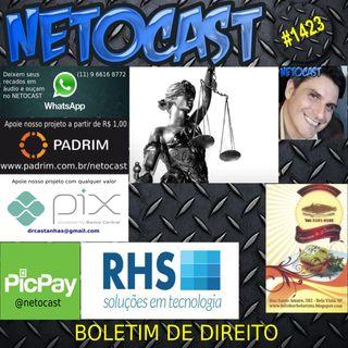 NETOCAST 1423 DE 17/05/2021 - BOLETIM DE DIREITO