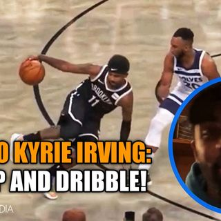 Memo To Kyrie Irving: Shut Up And Dribble!