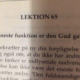 Lektion 65