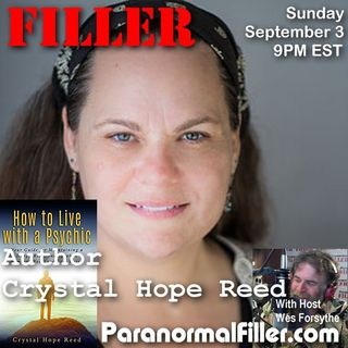 Author Crystal Hope Reed On Paranormal Filler