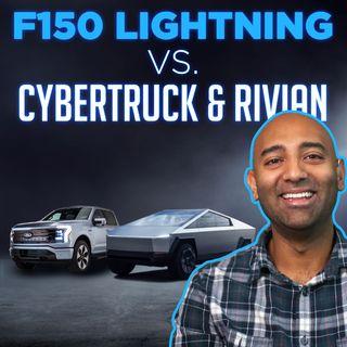 120. Pickup Truck War - Ford F-150 Lightning vs. Cybertruck & Rivian R1T | Two Bit da Vinci
