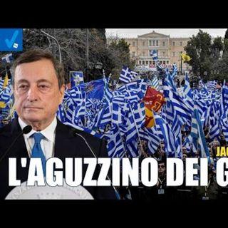 """Jacopo Brogi: """"In Grecia quelli come Draghi hanno condotto sadici esperimenti sociali"""""""