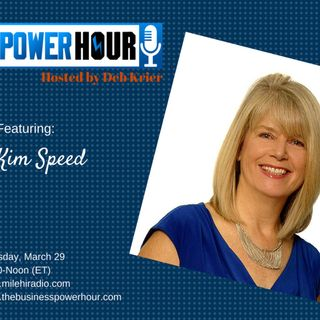 Guest: Kim Speed: Branding on a shoestring