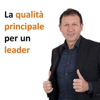 La qualità principale per un leader