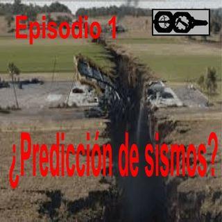 ¿Predicción de terremotos?