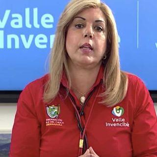 Clara Luz Roldan gobernadora del Valle