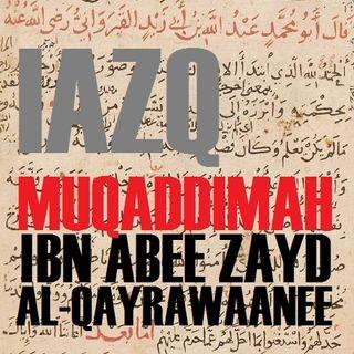Aqeedah of Ibn Abee Zayd al-Qayrawaanee