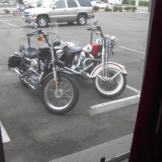 A Sportster?  I grew up on a Sportster