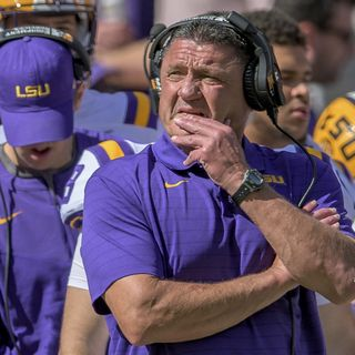 #195 Coach Orgeron time at LSU is over, Ole Miss vs Tennessee