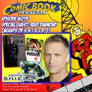 #219: Agents of SHIELD's Reed Diamond talks comics, bad guys, & Marvel Universe