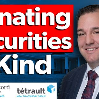 Donating Securities In Kind