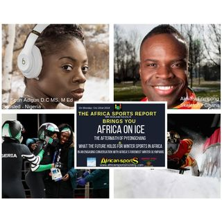 Africa On Ice - A conversation with Africa's foremost Winter Olympians about the Aftermath of Pyeongchang