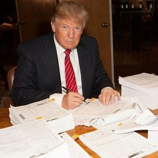 Why Trump Won't Release His Tax Returns