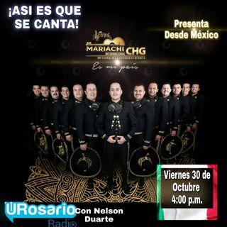 Desde Guadalajara, el Mariachi Internacional CHG