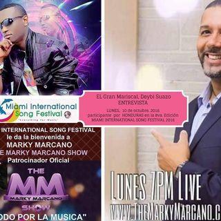 Tonight ! Singer Deybi El Mariscal Suazo