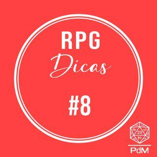 RPG Dicas #8 - Imersão na hora de começar o jogo