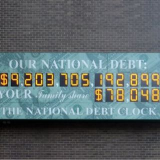 Why is washington not talking about the National Debt?