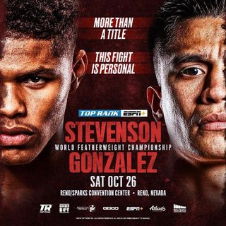 Preview Of The TopRankOnEspn Card In Reno Headlined By Shakur Stevenson-Joet Gonzalez For The WBO Featherweight Title Live On ESPN!!