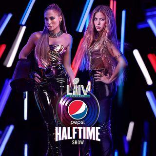 Shakira y Jennifer Lopez en el Super Bowl