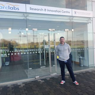 Entrepreneur Liam Dunne talks about a start up grant he was awarded