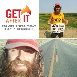 Episode 92 - with Rob Pope - Marathon runner and the real Forrest Gump!