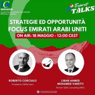 Export Talks - Focus Emirati Arabi Uniti