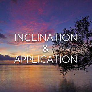Inclination & Application - Morning Manna #2885
