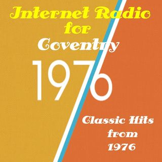 9th November 2018 playing Hits from 1976 on Godiva Radio for Coventry and the World.