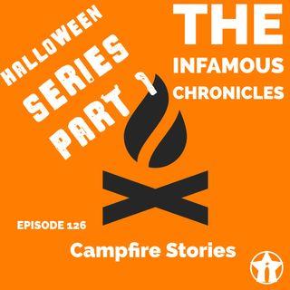 E126: Campfire Stories (Halloween Pt. 1) 🎃