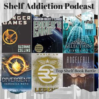 August Top Shelf Book Battle: Which YA Dystopian Book/Series is the Best?