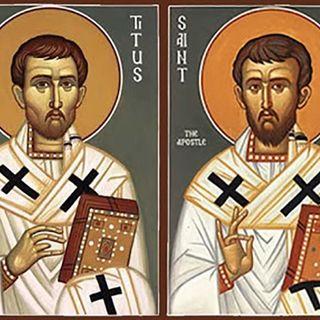 Domingo de la Palabra de Dios Santos. Timoteo y Tito, obispos