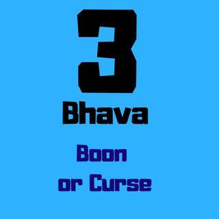 3rd house in Astrology | 3 Ghar | 3 भाव कुंडली में कितना अशुभ है?