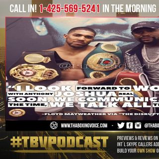 ☎️DREAM TEAM🔥Mayweather to Team Up with Anthony Joshua 'Real Soon'😱For Tyson Fury Fight❗️
