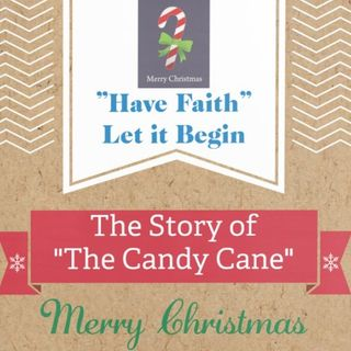 The Candy Cane Story Merry Christmas