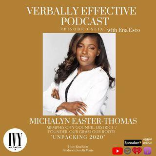 "EPISODE CXLIV | ""UNPACKING 2020"" w/ MICHALYN EASTER-THOMAS"