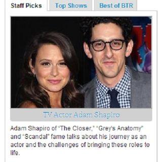 Actor Adam Shapiro talks Scandal on #ConversationsLIVE