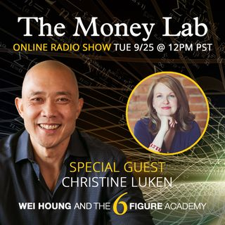 "Episode #82 - The ""You Don't Deserve To Get Paid For Fun"" Money Story with guest Christine Luken"