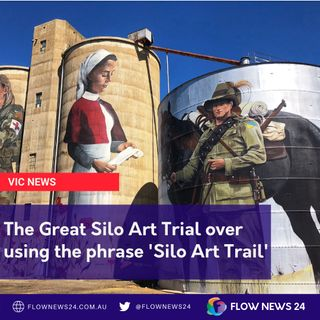 The stink over using the phrase 'Silo Art Trail'