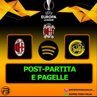 MILAN BODO-GLIMT 3-2 | PAGELLE e POST-PARTITA