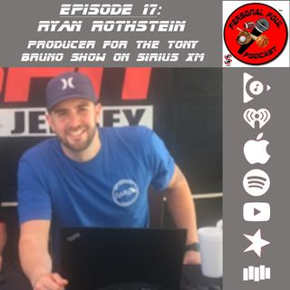 17. Ryan Rothstein, Producer for the Tony Bruno Show on Sirius XM