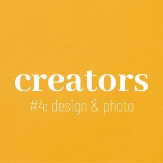 "CREATORS #4: ""desing gráfico & fotografia"" com Felipe Soares"