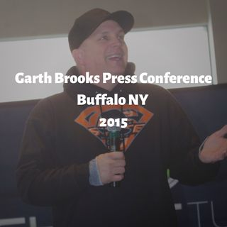 Garth Brooks Press Conference Buffalo 2015