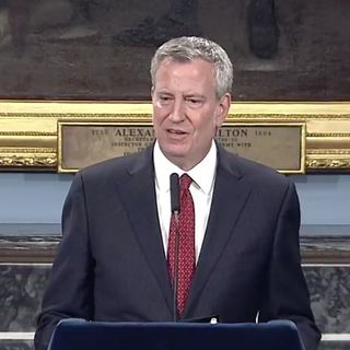 4/23/20 NYC Mayor Bill de Blasio discusses the COVID-19 pandemic