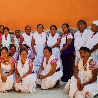 Mujeres, indígenas; defensoras