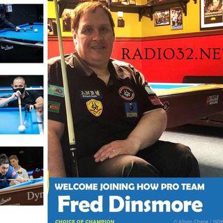 Spazio Wheelchair Billiards presenta Fred Dinsmore  versione in lingua inglese