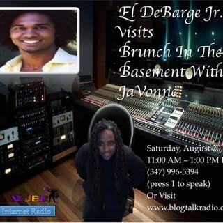 El Debarge Jr. on Brunch In The Basement With JaVonne