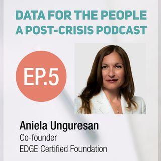 Aniela Unguresan - Co-founder of EDGE Certified Foundation
